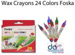 CRAYONS WAX A24 THIN BX 24