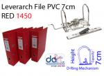 LEVERARCH PVC 7CM 1450 RED