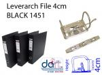 LEVERARCH PVC 4CM 1451 BLACK