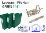 LEVERARCH PVC 4CM 1451 GREEN