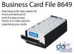 BUSINESS CARD HOLDER B8649 700 CARDS