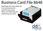 BUSINESS CARD HOLDER B8648 400 CARDS