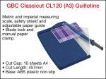 GUILLOTINE CL120 GBC