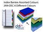 INDEX BANTEX ASS COL JAN-DEC 6 DIFF COL B6089