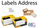 LABELS ADDRESS  83x33