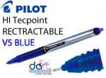 PILOT HI TEC V5 RETRACTABLE BLUE