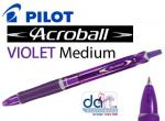 PILOT ACROBALL BALLPEN PURPLE