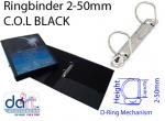 RINGBINDER C.O.L 2-50MM  BLACK