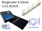 RINGBINDER C.O.L 4-50MM  BLACK